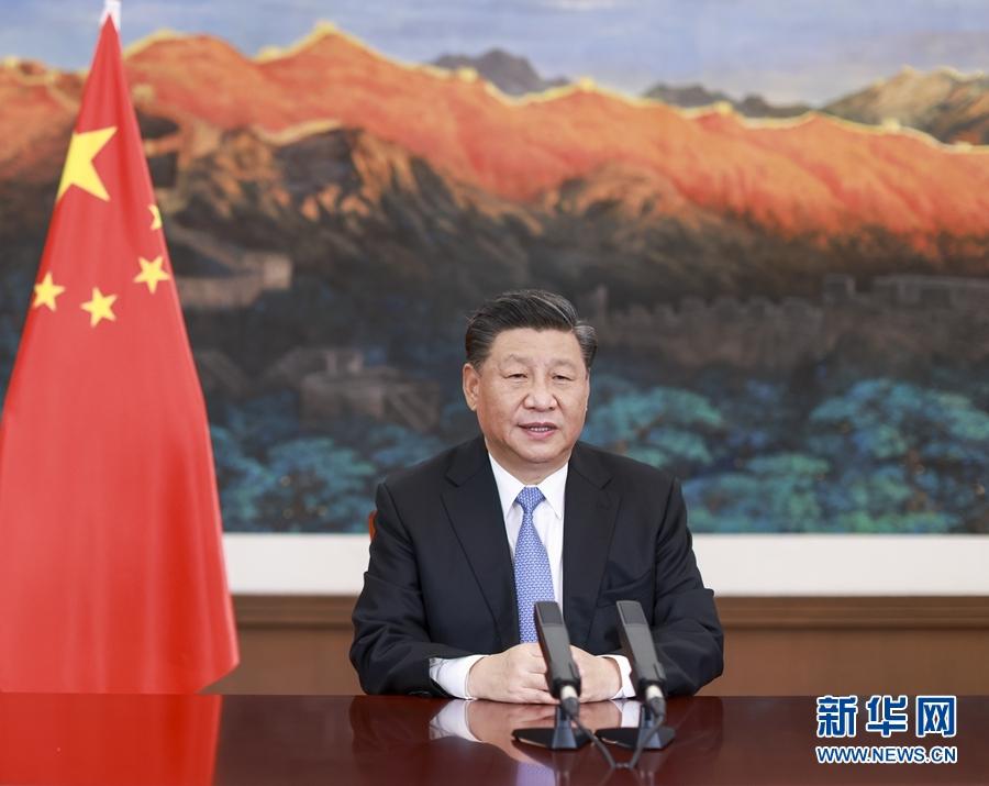 习近平在第十七届中国-东盟博览会和中国-东盟商务与